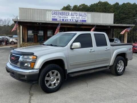 2012 GMC Canyon for sale at Greenbrier Auto Sales in Greenbrier AR
