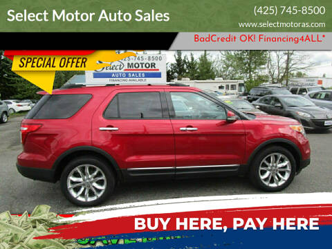 2011 Ford Explorer for sale at Select Motor Auto Sales in Lynnwood WA