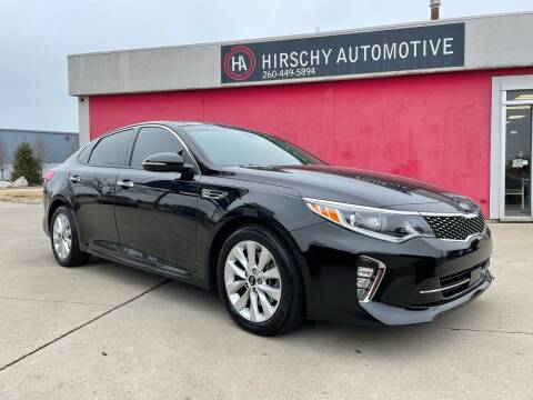 2018 Kia Optima for sale at Hirschy Automotive in Fort Wayne IN