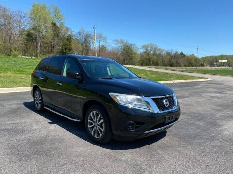 2014 Nissan Pathfinder for sale at Tennessee Valley Wholesale Autos LLC in Huntsville AL