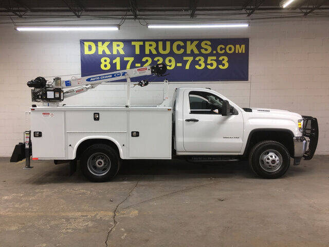 2018 GMC 3500HD DRW Reg Cab for sale at DKR Trucks in Arlington TX