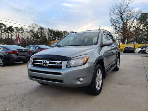 2007 Toyota RAV4 for sale at DADA AUTO INC in Monroe NC