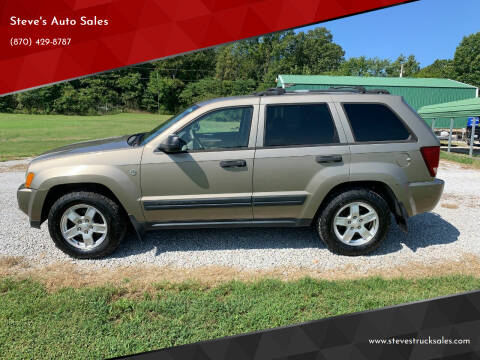 2005 Jeep Grand Cherokee for sale at Steve's Auto Sales in Harrison AR