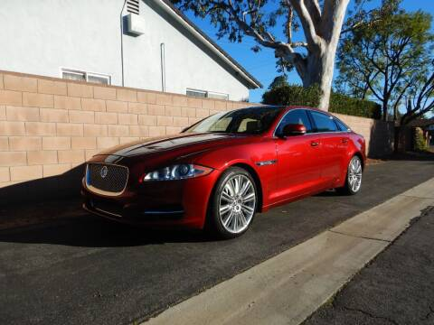 2011 Jaguar XJL for sale at California Cadillac & Collectibles in Los Angeles CA