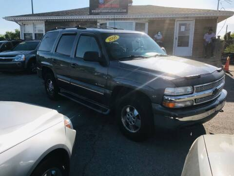 2001 Chevrolet Tahoe for sale at I57 Group Auto Sales in Country Club Hills IL