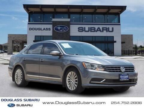 2017 Volkswagen Passat for sale at Douglass Automotive Group - Douglas Nissan in Waco TX