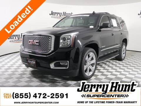 2017 GMC Yukon for sale at Jerry Hunt Supercenter in Lexington NC