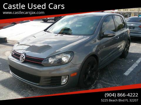 2012 Volkswagen GTI for sale at Castle Used Cars in Jacksonville FL