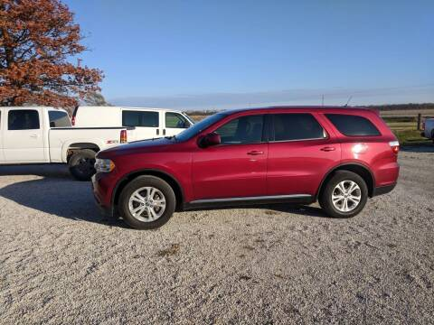 2013 Dodge Durango for sale at Halstead Motors LLC in Halstead KS
