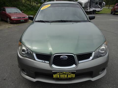 2006 Subaru Impreza for sale at MOUNTAIN VIEW AUTO in Lyndonville VT