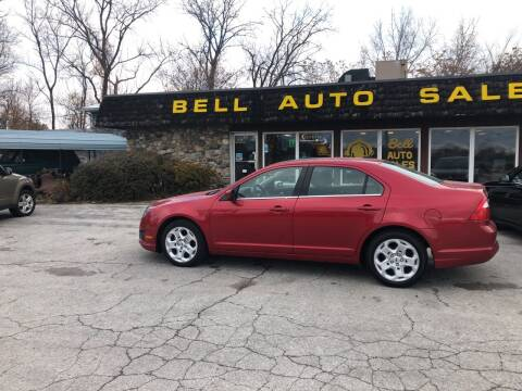 2010 Ford Fusion for sale at BELL AUTO & TRUCK SALES in Fort Wayne IN