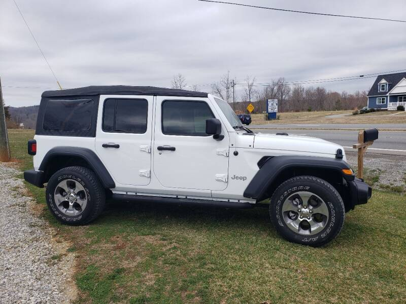 2018 Jeep Wrangler Unlimited for sale at 220 Auto Sales in Rocky Mount VA