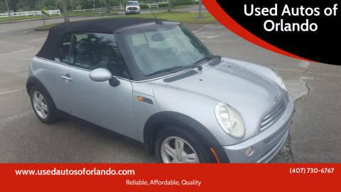 2005 MINI Cooper for sale at Used Autos of Orlando in Orlando FL