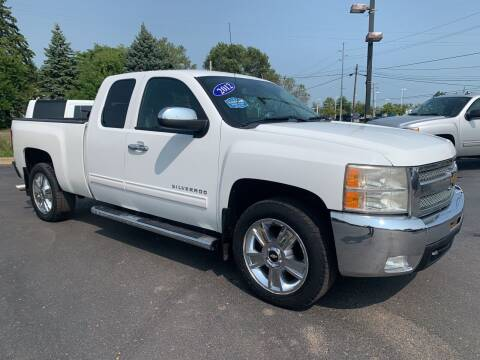 2012 Chevrolet Silverado 1500 for sale at A 1 Motors in Monroe MI