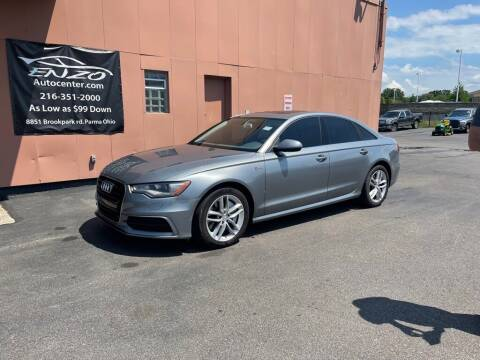 2013 Audi A6 for sale at ENZO AUTO in Parma OH