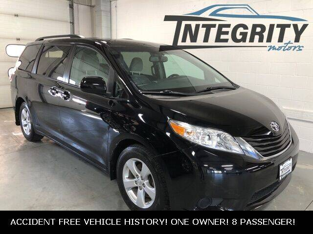2017 Toyota Sienna for sale at Integrity Motors, Inc. in Fond Du Lac WI