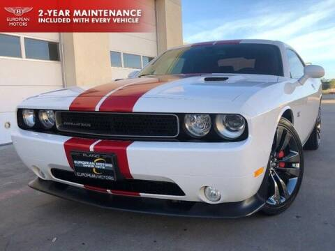 2013 Dodge Challenger for sale at European Motors Inc in Plano TX