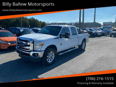 2012 Ford F-250 Super Duty for sale at Billy Ballew Motorsports in Dawsonville GA