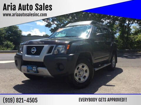 2013 Nissan Xterra for sale at ARIA  AUTO  SALES in Raleigh NC