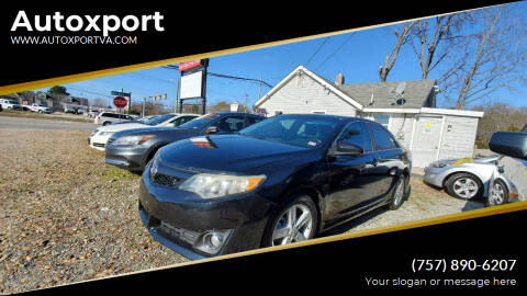 2012 Toyota Camry for sale at Autoxport in Newport News VA