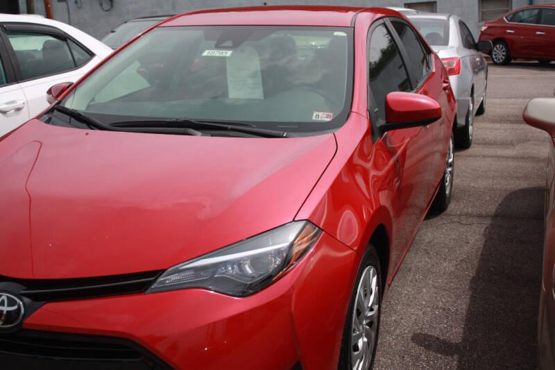 2017 Toyota Corolla for sale at Auto Villa in Danville VA