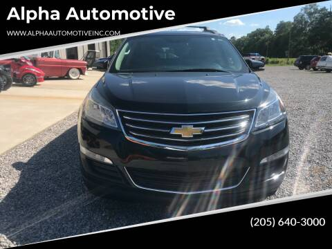 2015 Chevrolet Traverse for sale at Alpha Automotive in Odenville AL