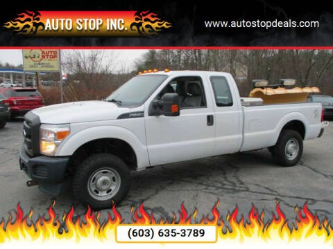 2014 Ford F-250 Super Duty for sale at AUTO STOP INC. in Pelham NH