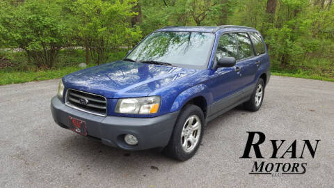 2003 Subaru Forester for sale at Ryan Motors LLC in Warsaw IN
