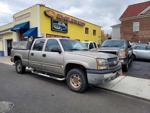 2003 Chevrolet Silverado 1500HD for sale at Bel Air Auto Sales in Milford CT