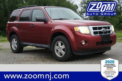 2012 Ford Escape for sale at Zoom Auto Group in Parsippany NJ