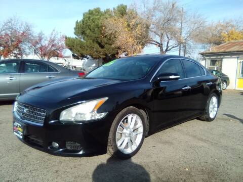 2010 Nissan Maxima for sale at Larry's Auto Sales Inc. in Fresno CA