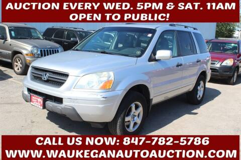 2005 Honda Pilot for sale at Waukegan Auto Auction in Waukegan IL