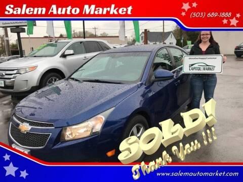 2013 Chevrolet Cruze for sale at Salem Auto Market in Salem OR