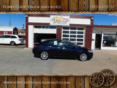 2014 Dodge Dart for sale at Porks Chop Truck and Auto in Cheyenne WY