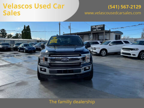 2020 Ford F-150 for sale at Velascos Used Car Sales in Hermiston OR