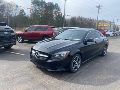 2014 Mercedes-Benz CLA for sale at Affordable Auto Sales in Webster WI