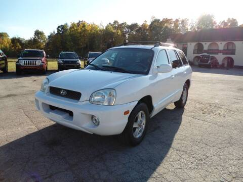 2004 Hyundai Santa Fe for sale at Route 111 Auto Sales in Hampstead NH