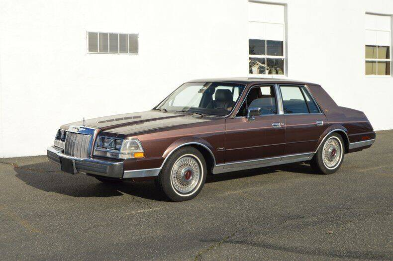 1987 Lincoln Continental for sale in Springfield, MA
