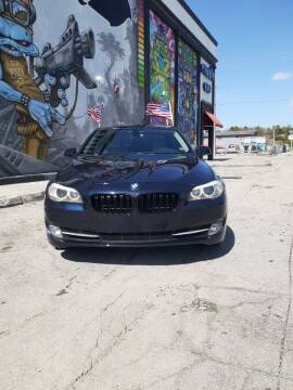 2011 BMW 5 Series for sale at Rosa's Auto Sales in Miami FL