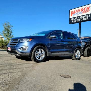 2018 Ford Edge for sale at Hayden Cars in Coeur D Alene ID