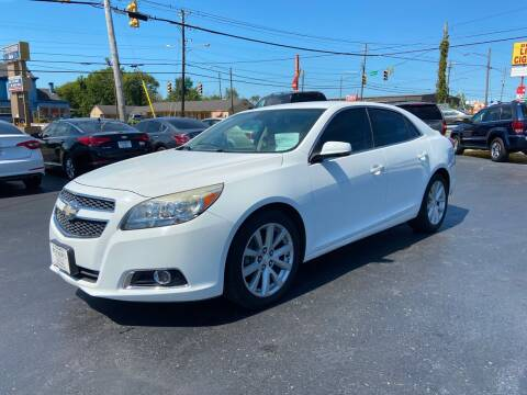 2013 Chevrolet Malibu for sale at Rucker's Auto Sales Inc. in Nashville TN