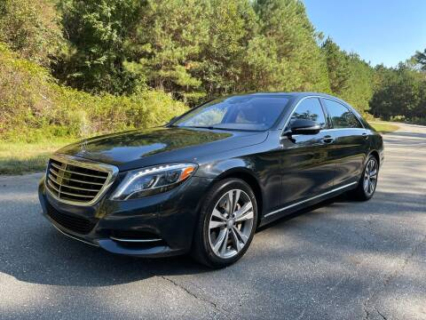 2015 Mercedes-Benz S-Class for sale at Carrera AutoHaus Inc in Clayton NC