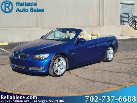 2007 BMW 3 Series for sale at Reliable Auto Sales in Las Vegas NV
