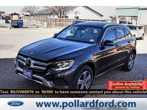 2018 Mercedes-Benz GLC for sale at South Plains Autoplex by RANDY BUCHANAN in Lubbock TX