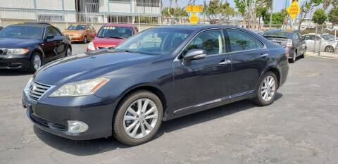 2010 Lexus ES 350 for sale at International Motors in San Pedro CA