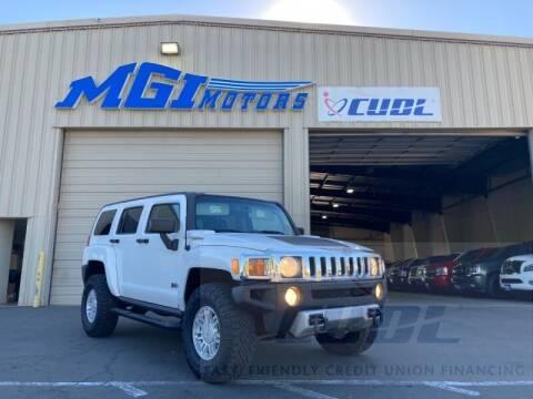 2008 HUMMER H3 for sale at MGI Motors in Sacramento CA