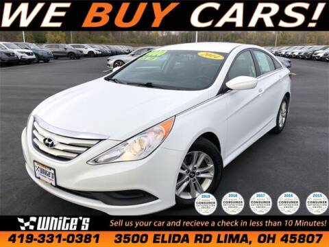 2014 Hyundai Sonata for sale at White's Honda Toyota of Lima in Lima OH