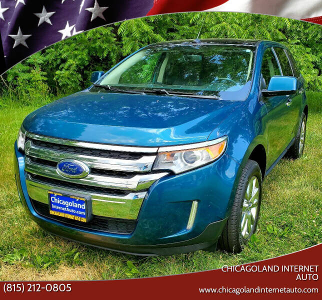 2011 Ford Edge for sale at Chicagoland Internet Auto - 410 N Vine St New Lenox IL, 60451 in New Lenox IL
