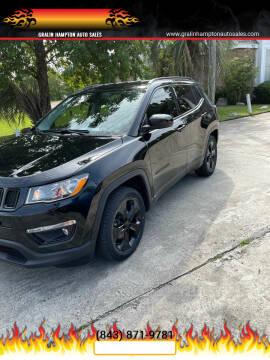 2018 Jeep Compass for sale at Gralin Hampton Auto Sales in Summerville SC