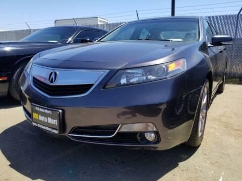 2014 Acura TL for sale at 916 Auto Mart in Sacramento CA